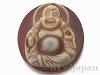 財神天珠(彌勒佛観音彫り)パーツ38×34mm