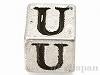 アルファベットキューブ (U) 6×6mm