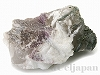 トルマリン入り水晶原石90mm×70mm×50mm