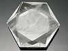 天然水晶(六芒星)カット47×41×11mm