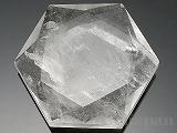 天然水晶(六芒星)カット50×44×13mm