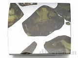 【処分価格】 エスクエル隕石(スライス)23×20×2mm