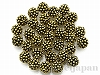 10mm 樹脂ビーズ(アンティークゴールド) ×10g