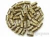 14×6mm 樹脂ビーズ(アンティークゴールド) ×20g
