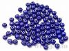6mm 樹脂ビーズ (クリスタルブルー) ×10g