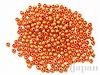 4mm 樹脂ビーズ (クリスタルオレンジ) ×10g