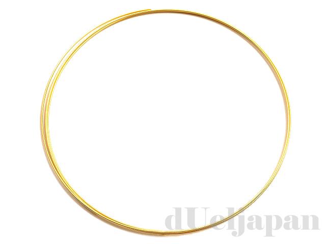 ブレスレットコイル 3回巻 62mm (ゴールドカラー)