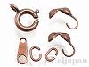 ネックレス用金具セット 引き輪 7mm (銅古美)