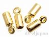 カツラ 内径1.6mm (ゴールドカラー) ×4個
