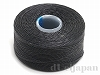 8 ビーズワーク用糸 #60 (ブラック) ×69m