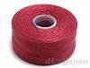 6 ビーズワーク用糸 #60 (レッド) ×69m