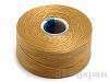 4 ビーズワーク用糸 #60 (ゴールド) ×69m