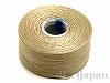 2 ビーズワーク用糸 #60 (ベージュ) ×69m