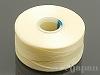 1 ビーズワーク用糸 #60 (クリーム) ×69m
