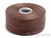 18 C-Lon ビーズスレッド(ビーズステッチ糸) #20 (ブラウン) ×71m