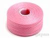 12 C-Lon ビーズスレッド(ビーズステッチ糸) #20 (ピンク) ×71m
