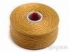 4 C-Lon ビーズスレッド(ビーズステッチ糸) #20 (ゴールド) ×71m