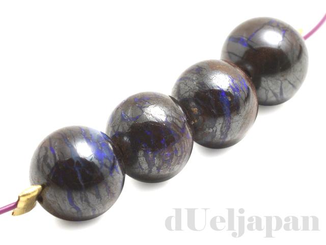 天然オパール5〜5.5mm(丸玉)×4個