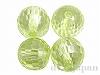 キュービックジルコニア8mm(丸玉カット/ライトグリーン)×4個