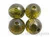 キュービックジルコニア 丸玉カット 6mm (グリーン) ×4個