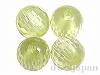 キュービックジルコニア 丸玉カット 6mm (ライトグリーン) ×4個