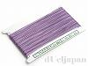 金天馬ワックスコード 0.8mm(紫) ×50m 日本製