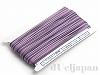 金天馬ワックスコード 段染 丸紐 2.5mm (紫) ×30m 日本製