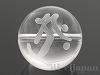 梵字天然水晶18mm(丸玉/タラーク/素彫り)