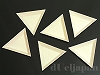樹脂製三角トレイ 75×75×10mm ×6個