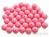 16mm 丸玉樹脂ビーズ (ピンク) ×100g