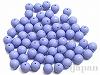 14mm 丸玉樹脂ビーズ (ブルー) ×100g