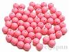 14mm 丸玉樹脂ビーズ (ピンク) ×100g