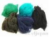 ワンダーウール 5色セット (ブライトグリーン/タコイズ/ダークブルー/モスグリーン/ブラック) 合計25g
