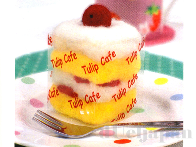 【フェルトキット】ふんわりショートケーキ