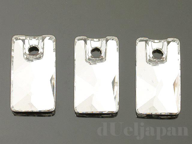 クリスタル 12.5×7mm (#3500/ペンデュラーロッホローズ) ×3個