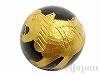 オニキス・四神<白虎(びゃっこ)>12mm(丸玉/ゴールド) 1個