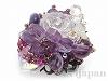 ☆美☆紫ブーケのリング