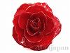 日本製生花フラワーダブルロック ショートナー5〜5.5cm(レッド) 1個