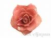 日本製生花フラワーダブルロック ショートナー3〜3.5cm(ピンク) 1個