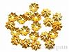 アルミ花座 4.5×1mm (ゴールドカラー) ×20個