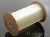 1.5mm 金天馬モビロンゴム糸(ポリウレタン) クリア ×約300m