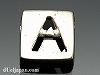 アルファベット(A) 8mm四角 SV925