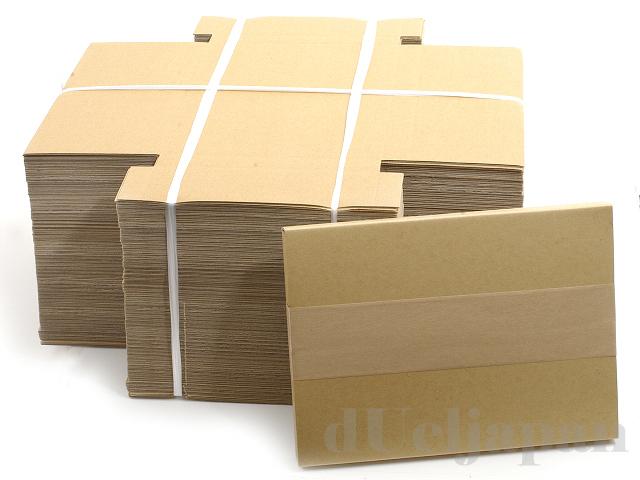 厚さ2cm ダンボール箱(A5サイズ) 22×16.5cm 100枚セット