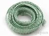 18 メタルメッシュリボン(コールドグリーン) ×1m