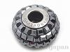 ジェットヘマタイト 15mm (#80201/ビーチャームド パヴェ)
