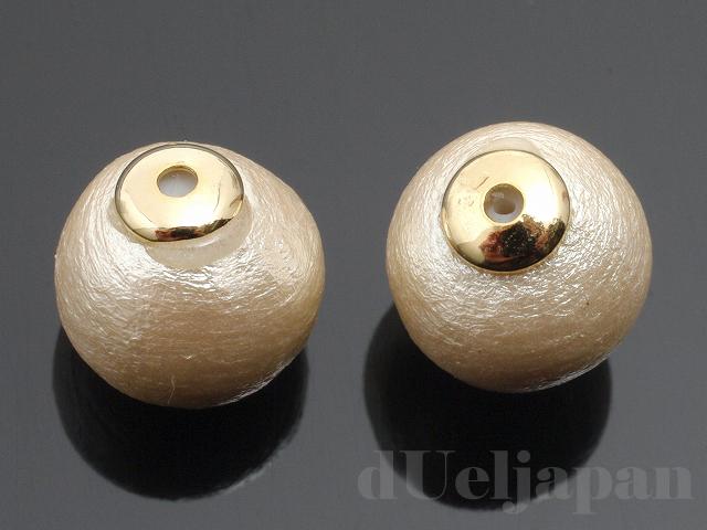 コットンパールキャッチ 8mm (キスカ)