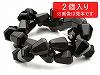 13×12mm ドロップカット オニキス ×2個