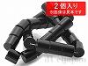 12×12mm チューブ(シリンダー・円柱) オニキス ×2個