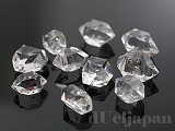 ハーキマーダイヤモンド クォーツ(原石) 約10mm(穴なし) ×10粒セット