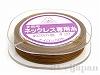 4 #20 ネックレス専用糸(ブラウン) ×20m